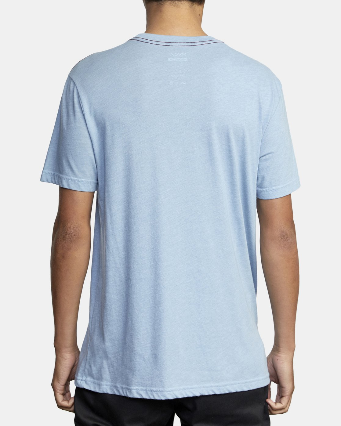 3 BIG RVCA SHORT SLEEVE TEE Blue M420VRBI RVCA