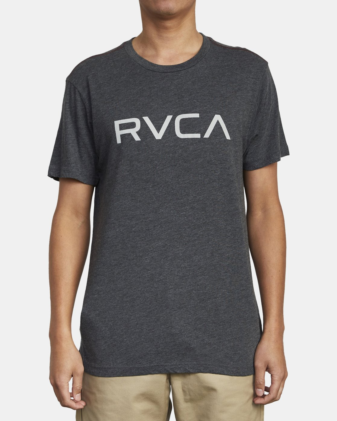 1 BIG RVCA T-SHIRT Black M420VRBI RVCA