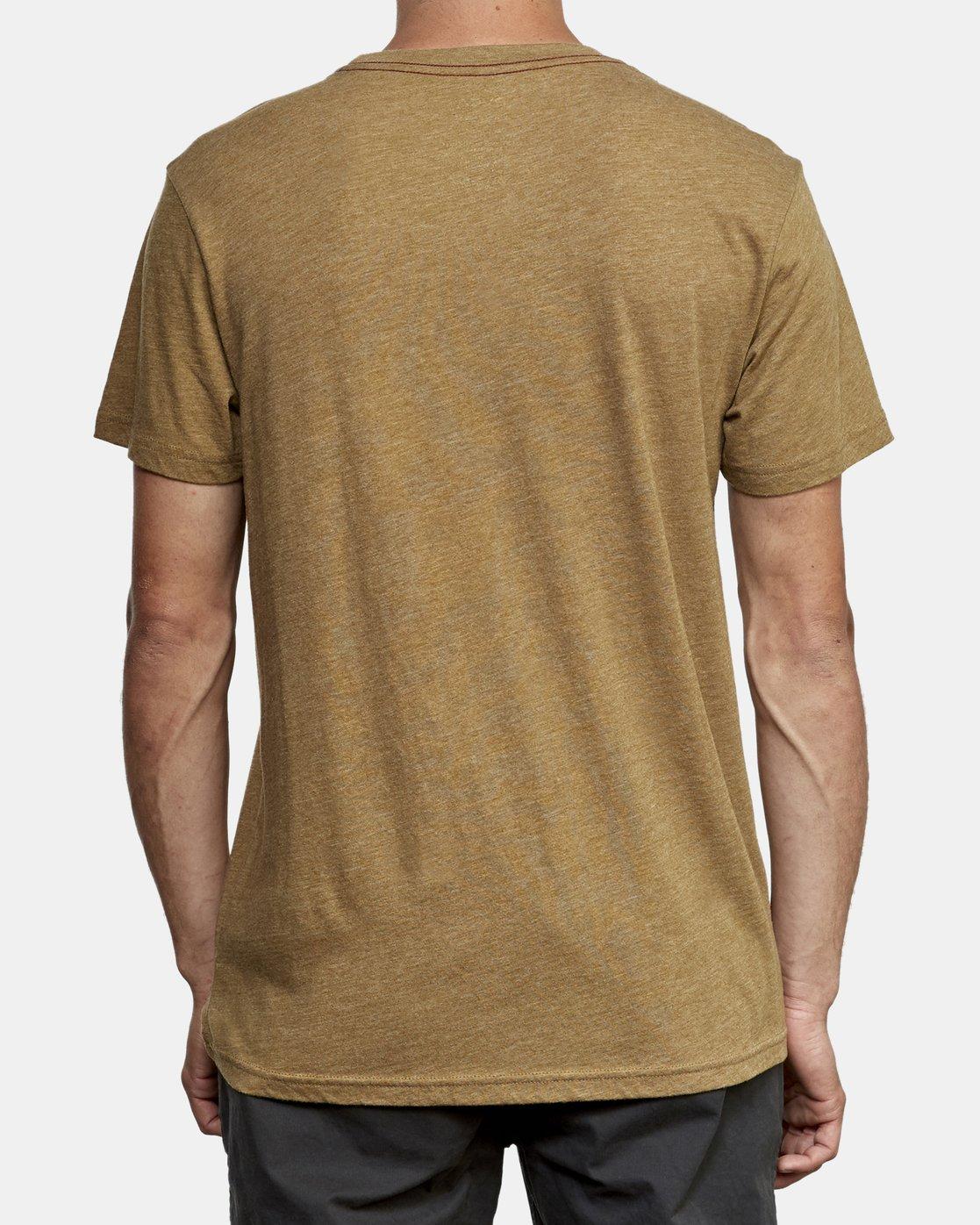 3 Big RVCA T-Shirt  M420VRBI RVCA