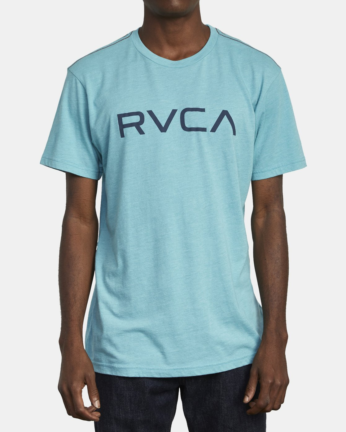 1 BIG RVCA TEE Brown M420VRBI RVCA