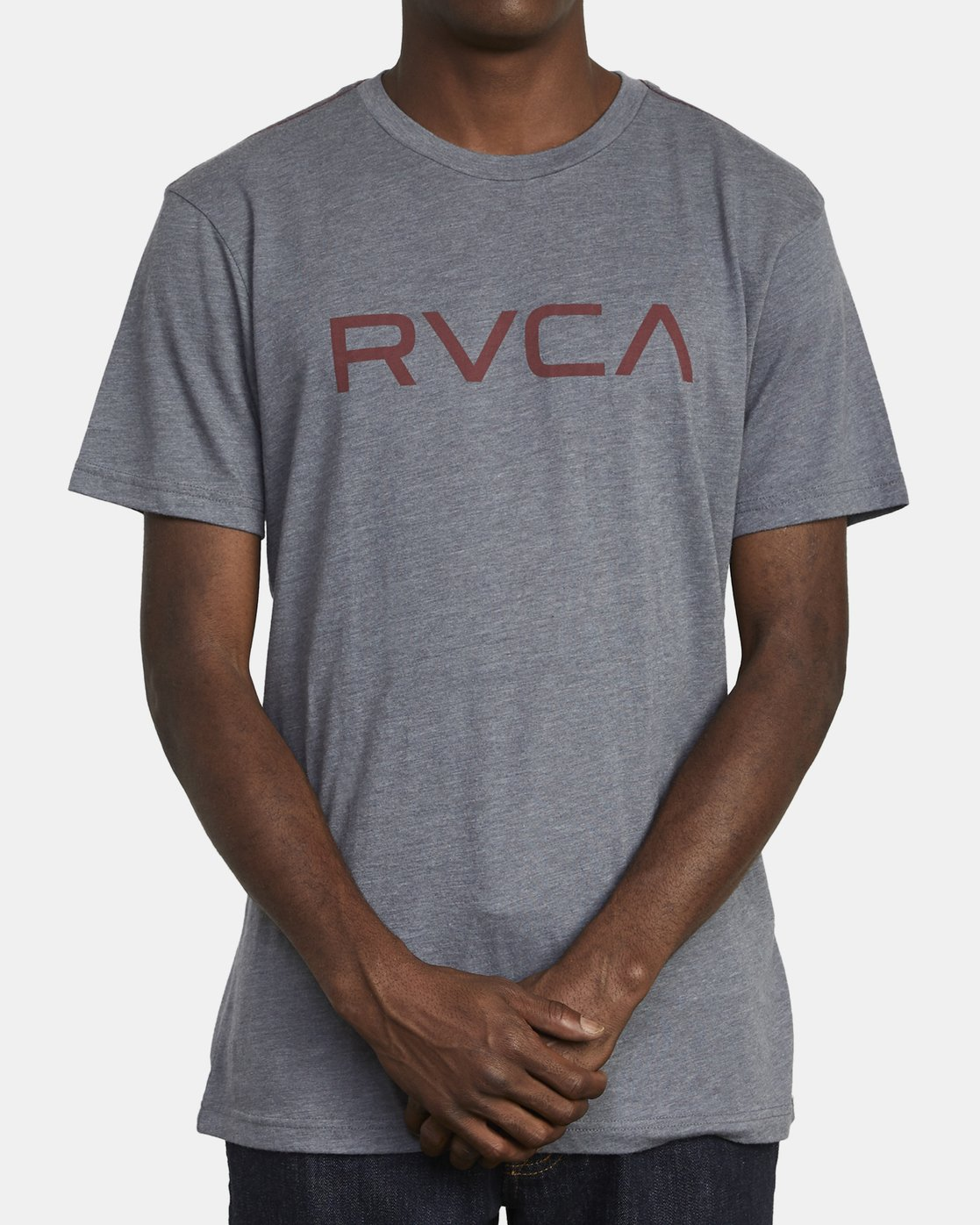 2 BIG RVCA TEE Grey M420VRBI RVCA
