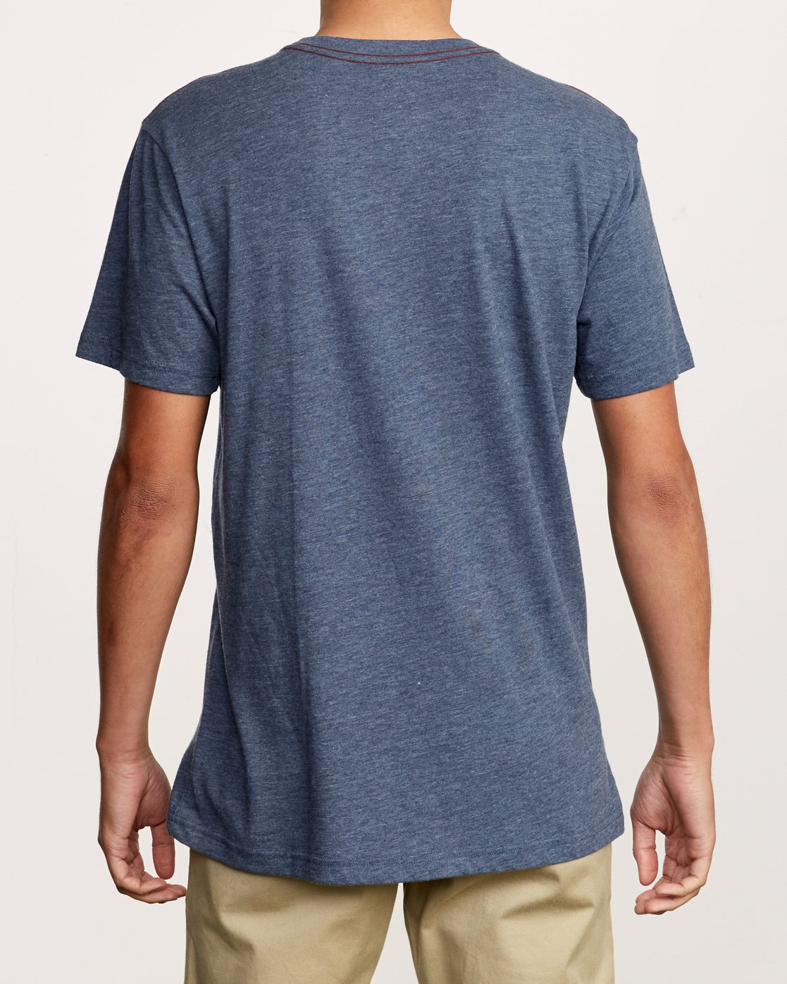 2 Big RVCA T-Shirt Blue M420VRBI RVCA