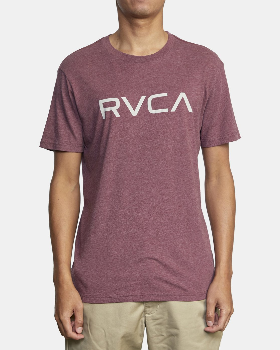2 BIG RVCA SHORT SLEEVE TEE Red M420VRBI RVCA