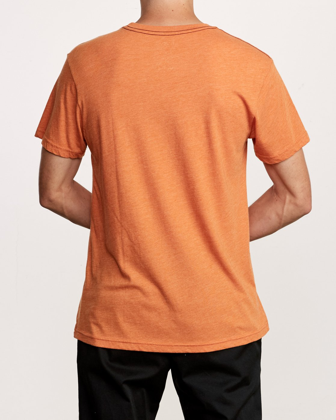 3 Big RVCA T-Shirt Orange M420VRBI RVCA