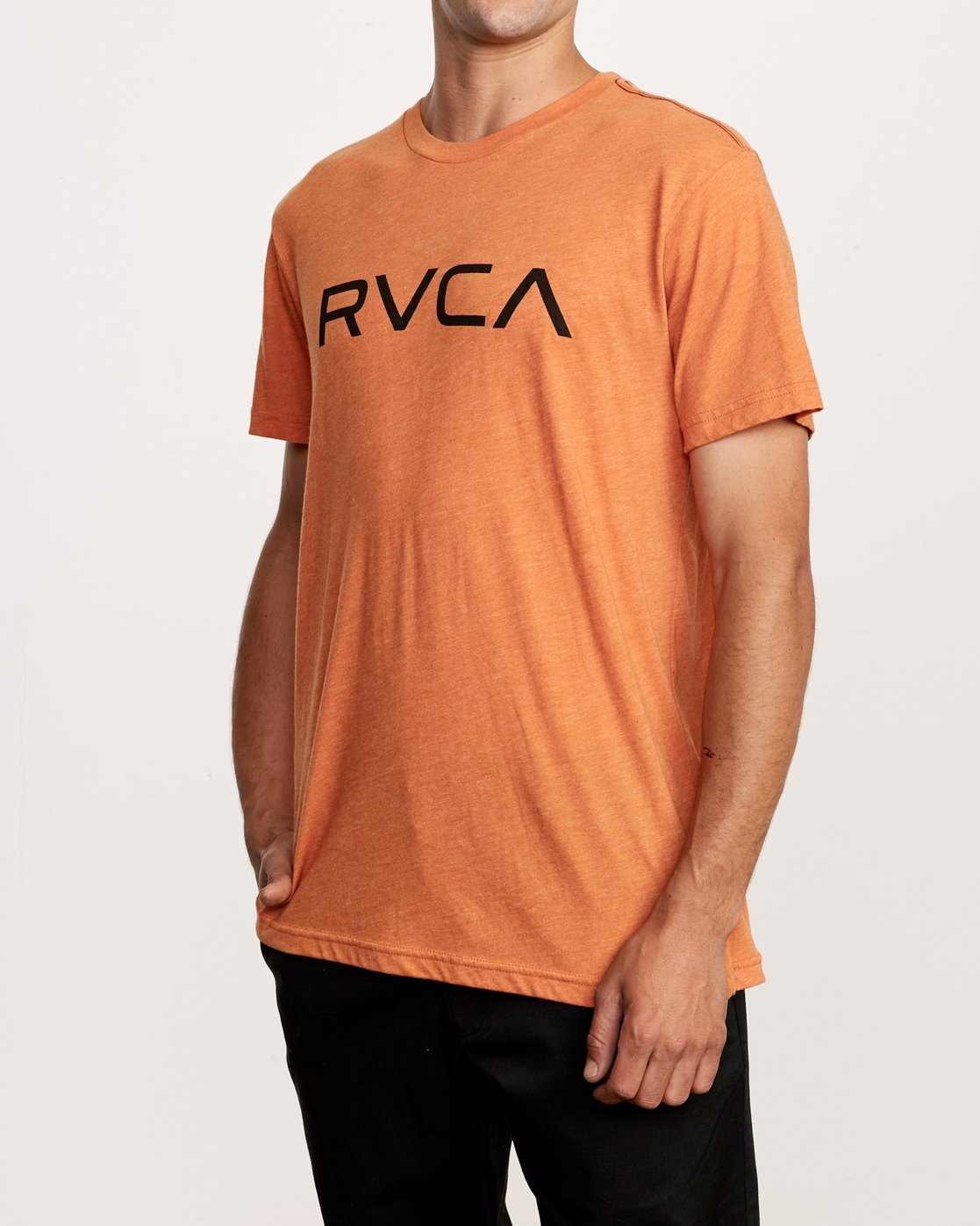 2 Big RVCA T-Shirt Orange M420VRBI RVCA