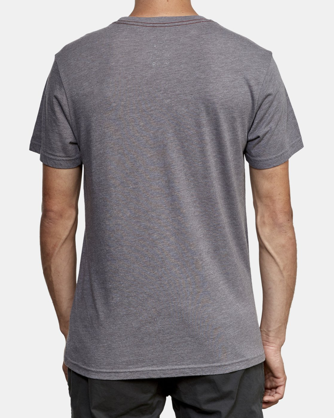 4 Big RVCA T-Shirt Grey M420VRBI RVCA