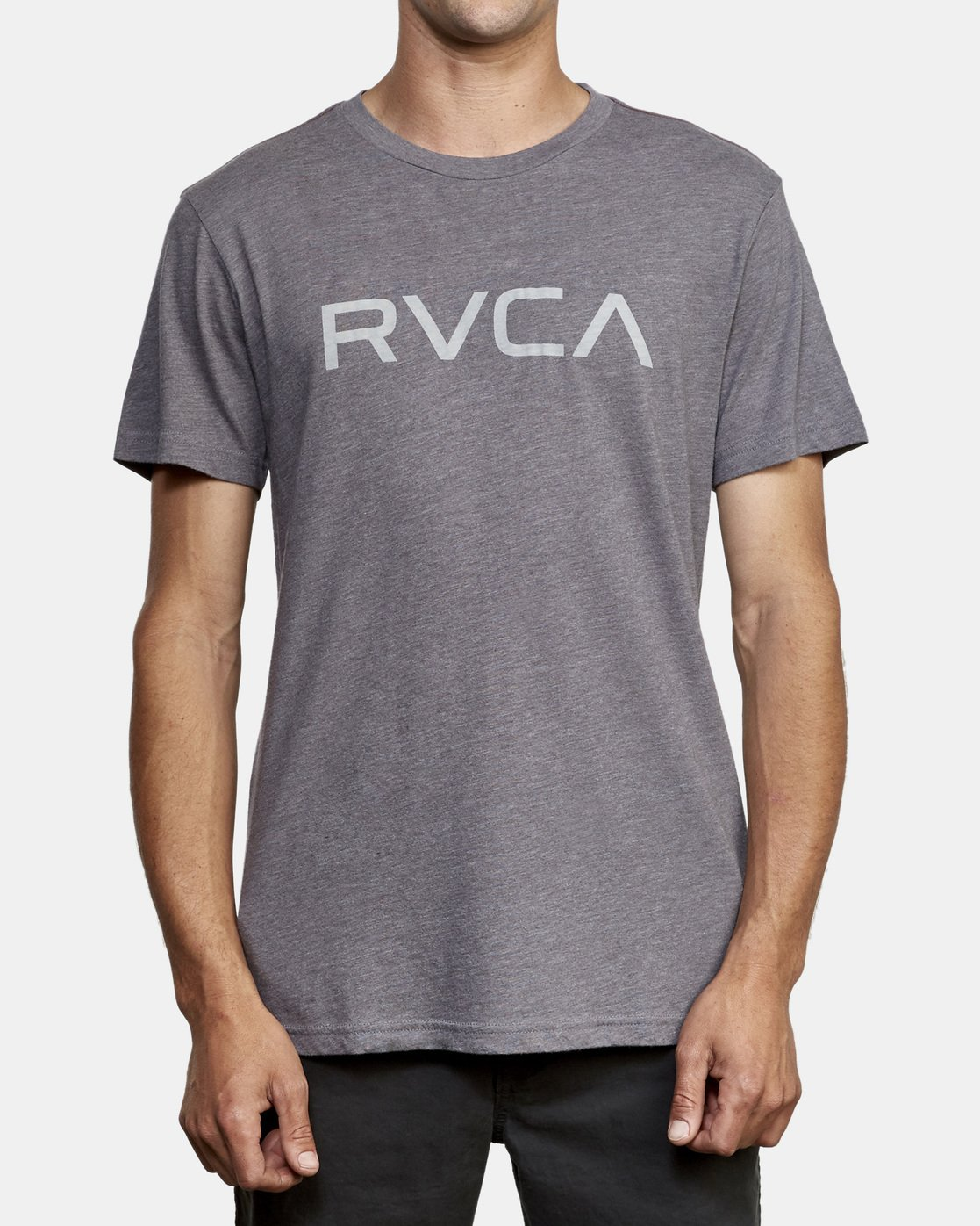 1 Big RVCA T-Shirt Grey M420VRBI RVCA