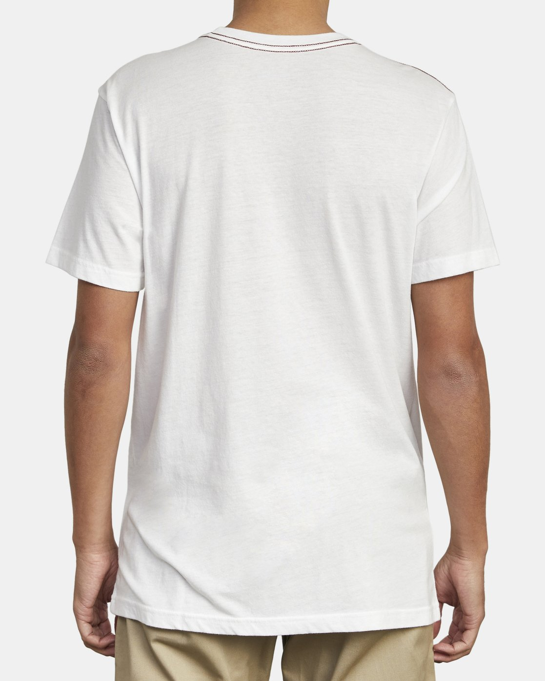 5 BIG RVCA SHORT SLEEVE TEE White M420VRBI RVCA