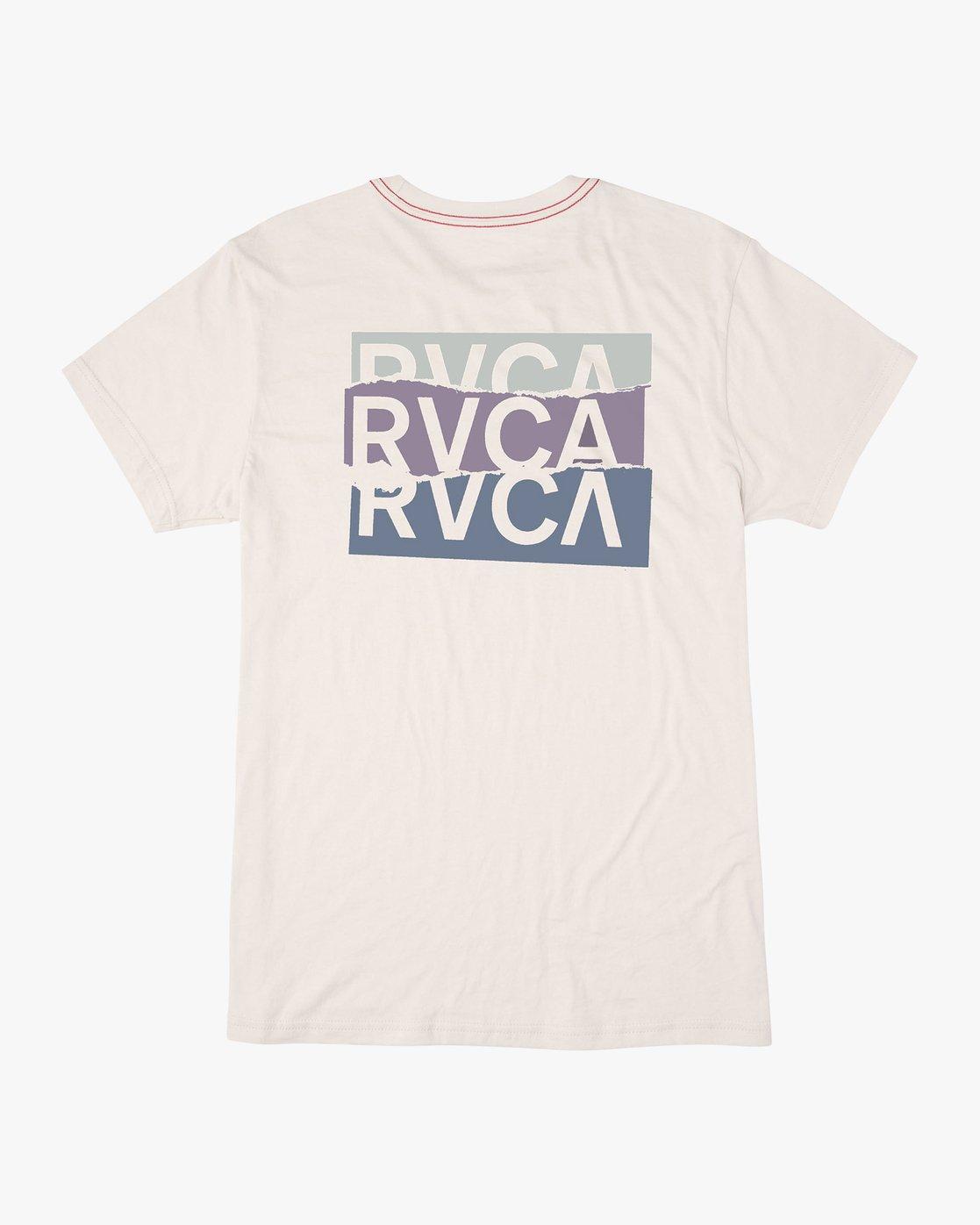 0 Overlap T-Shirt White M420VROV RVCA