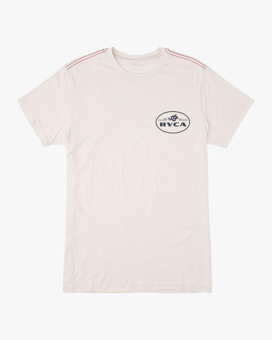 1 Serpent T-Shirt  M420VRSE RVCA
