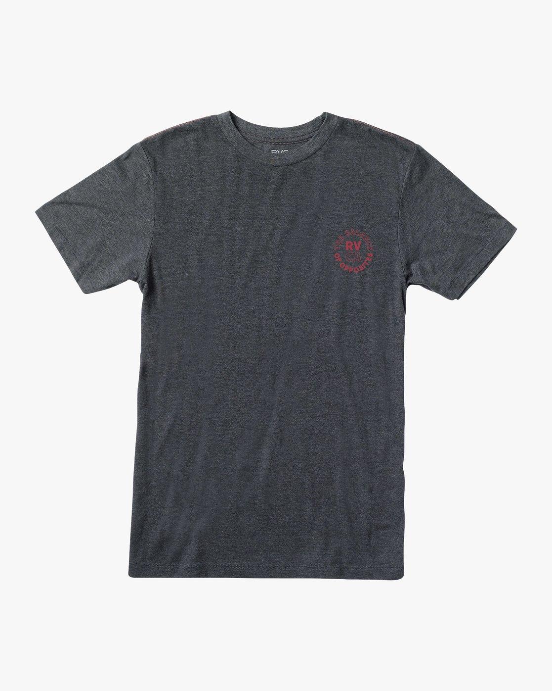 1 Siam T-Shirt Black M420VRSI RVCA