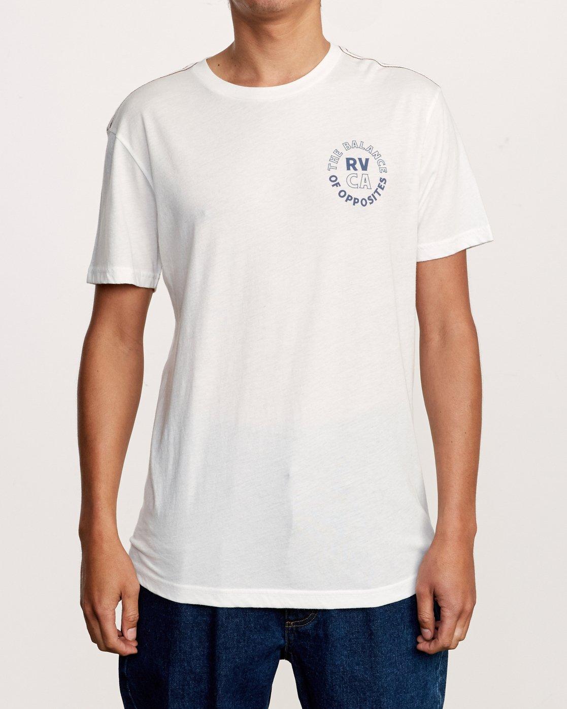 2 Siam T-Shirt White M420VRSI RVCA