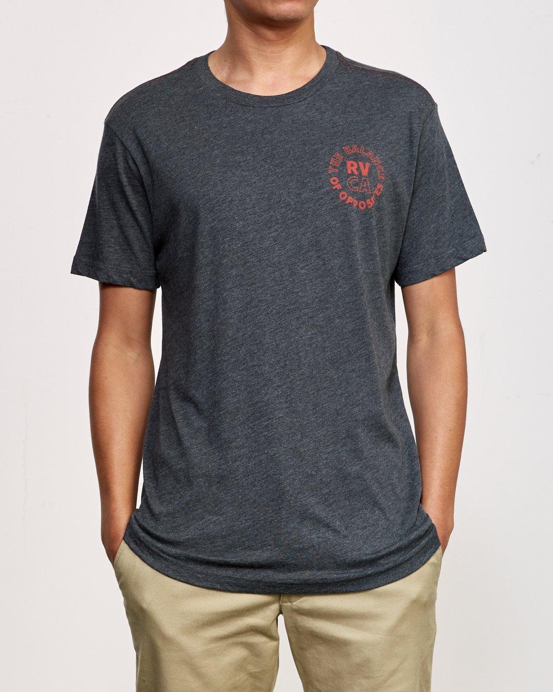 2 Siam T-Shirt Black M420VRSI RVCA