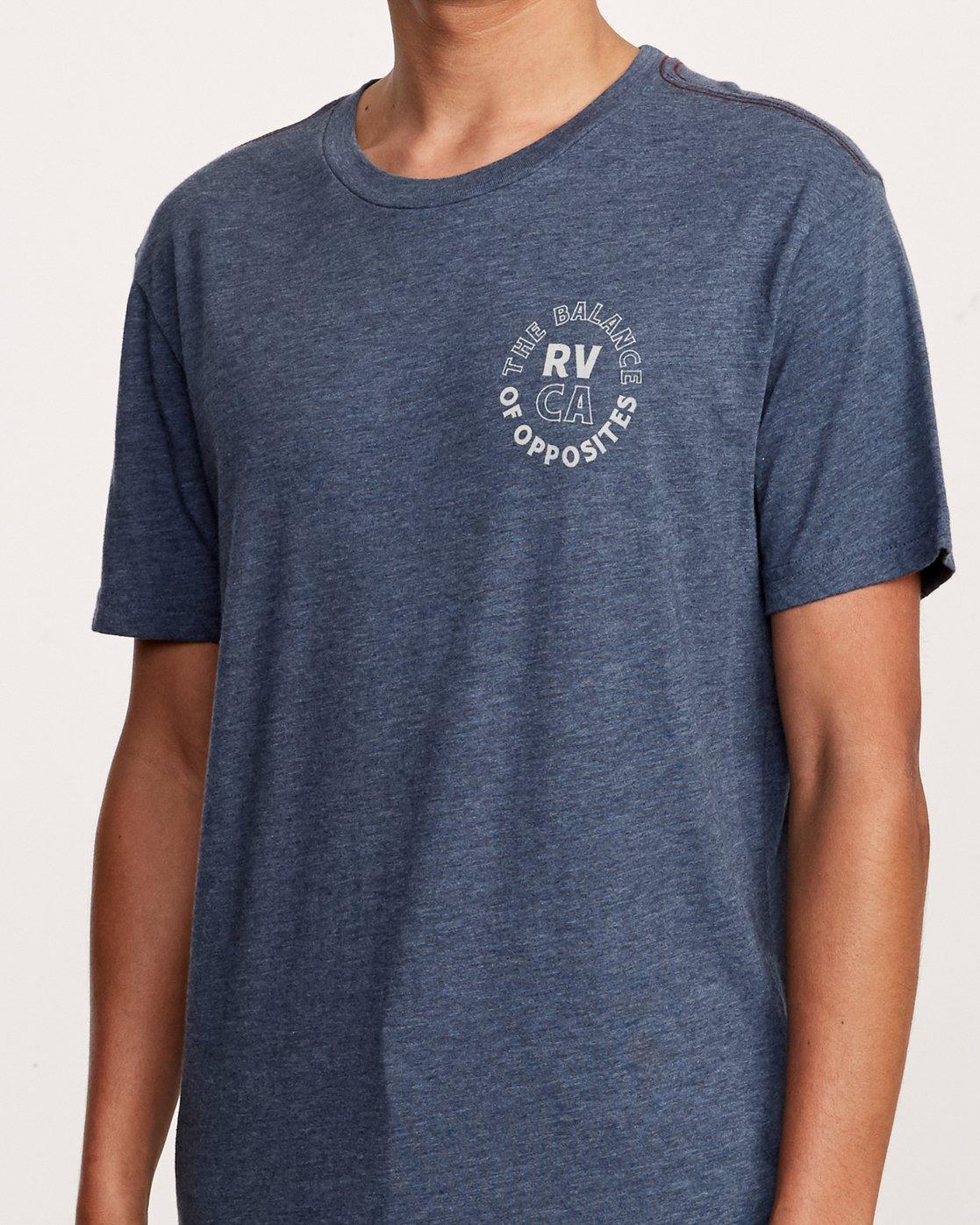 5 Siam T-Shirt Blue M420VRSI RVCA