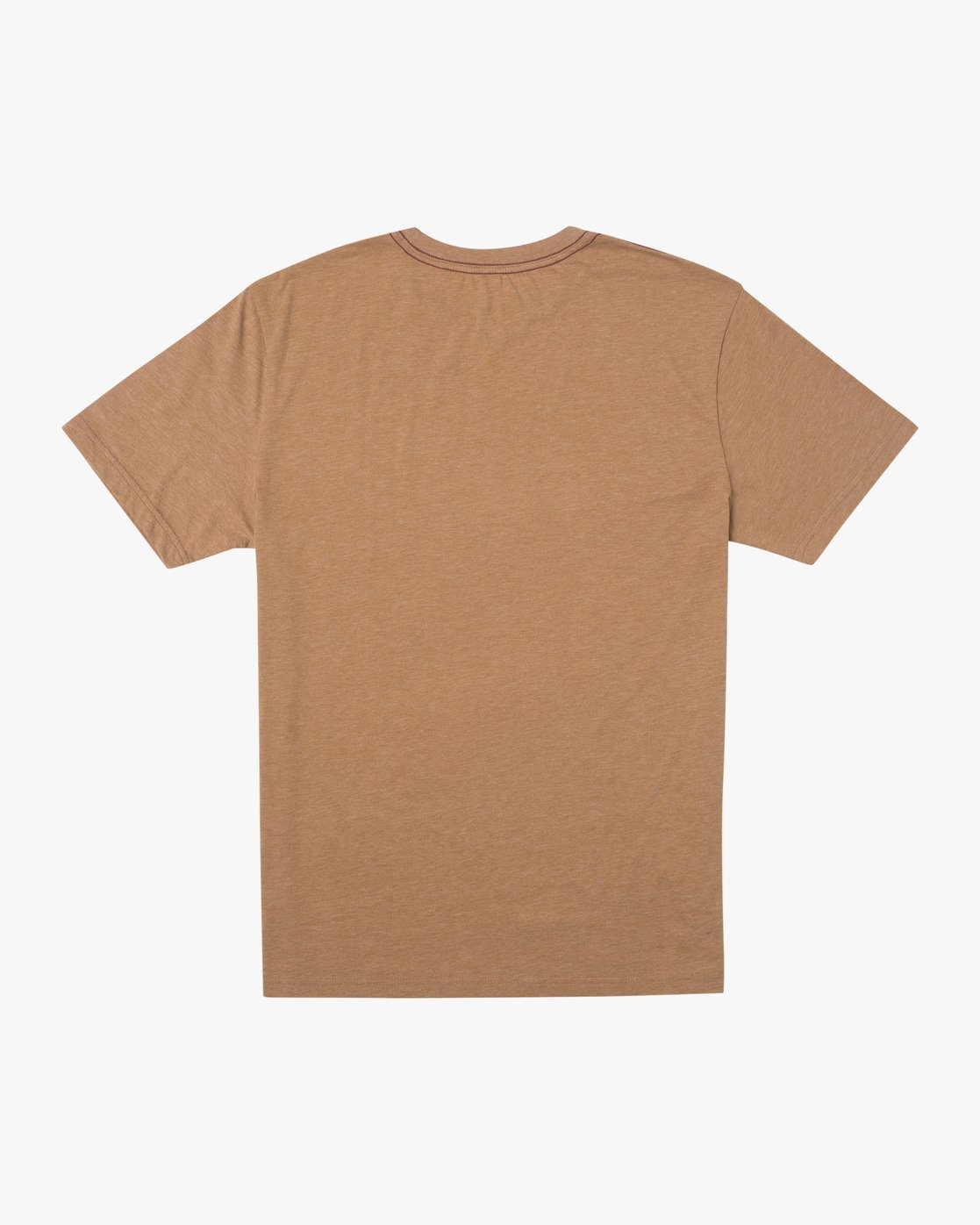 1 SOLO LABEL SHORT SLEEVE TEE Brown M420VRSO RVCA