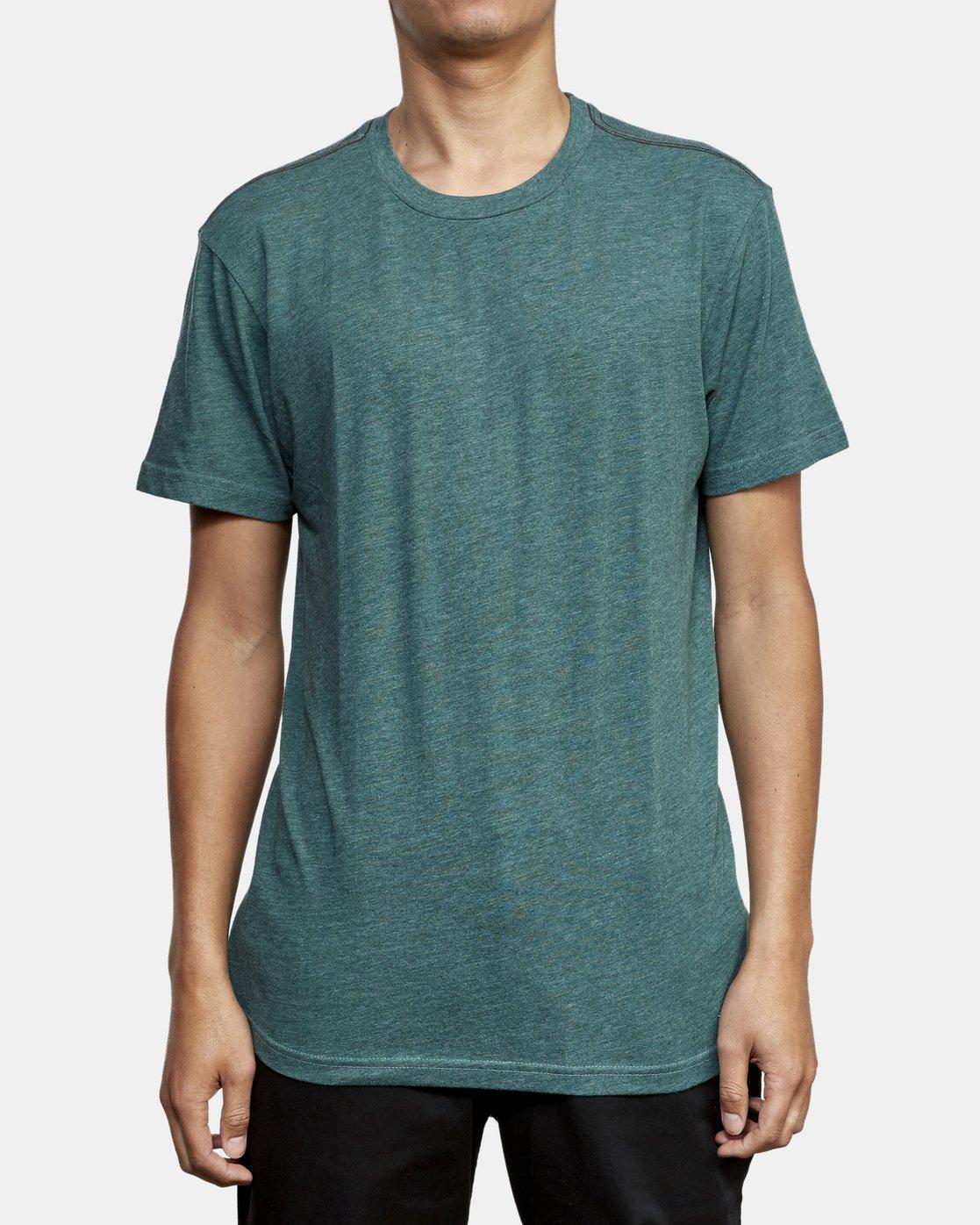 1 Solo Label T-Shirt Green M420VRSO RVCA
