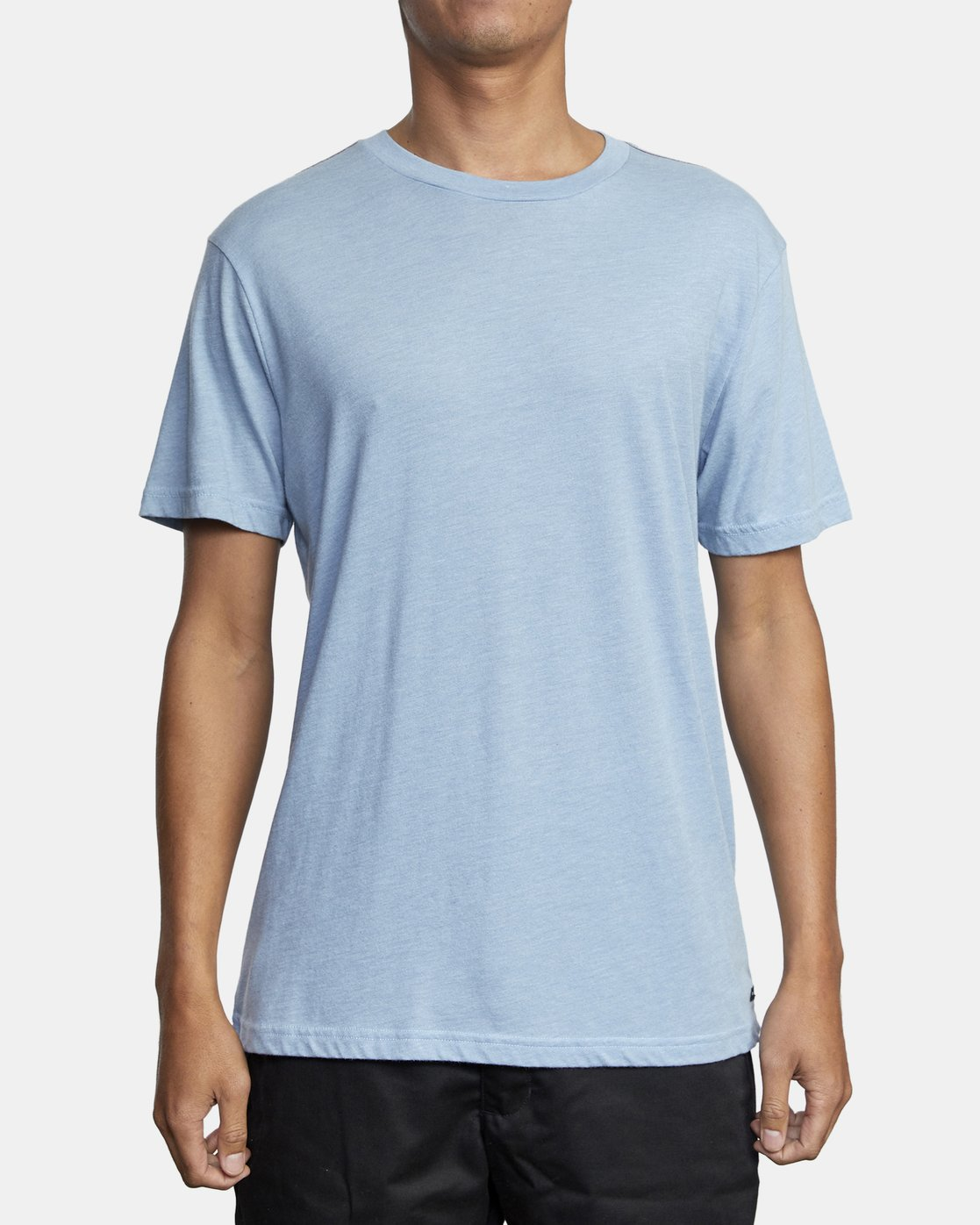 1 SOLO LABEL SHORT SLEEVE TEE Blue M420VRSO RVCA