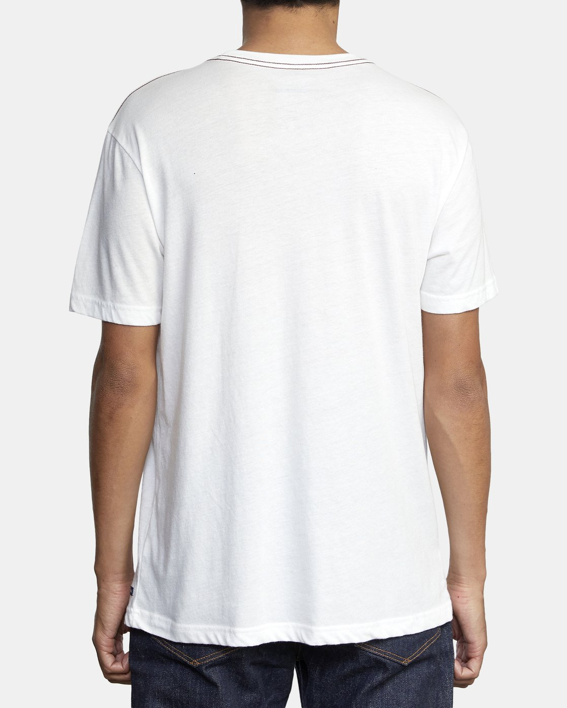 5 SOLO LABEL T-SHIRT White M420VRSO RVCA