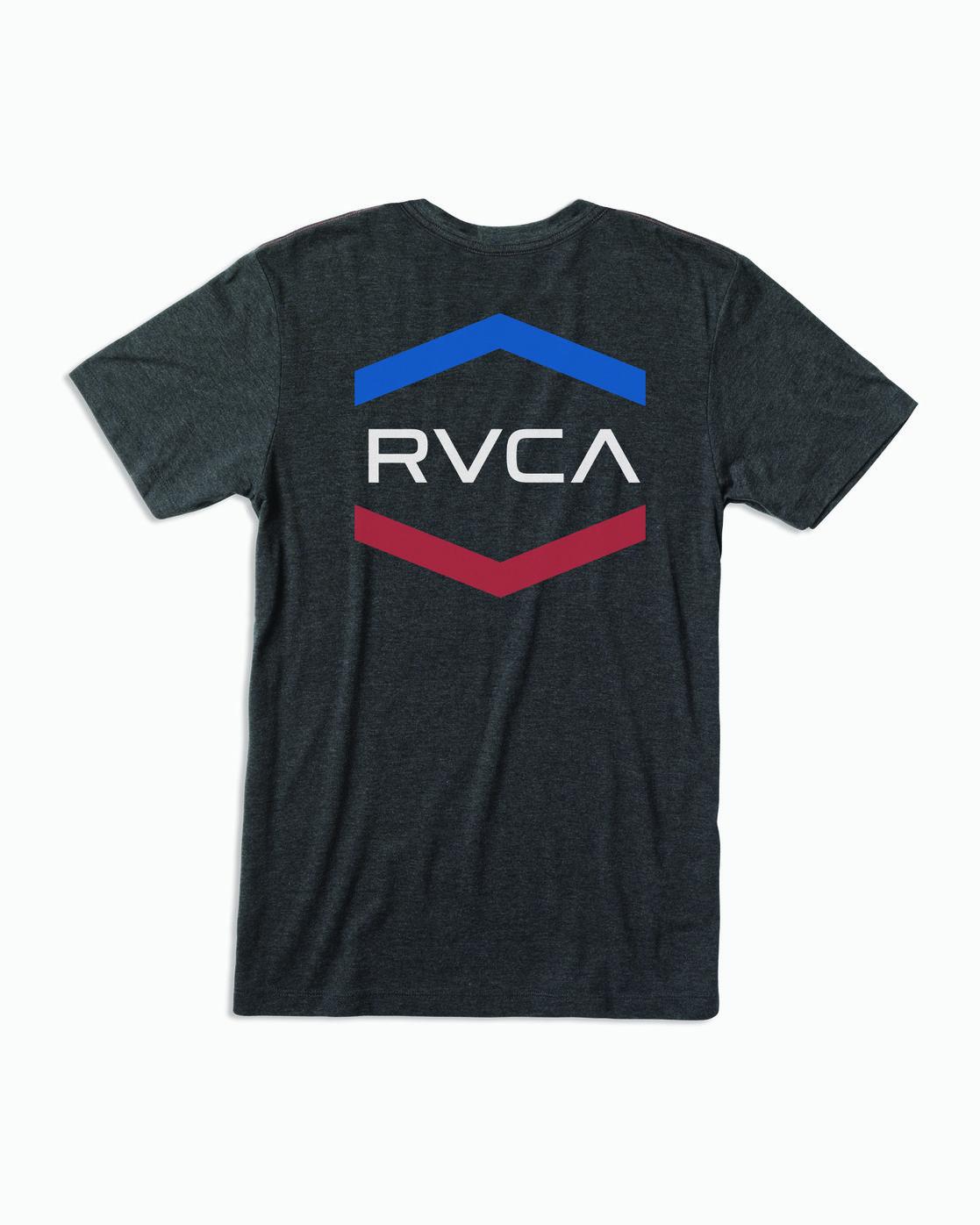 0 Airborne T-Shirt Black M420WRAI RVCA