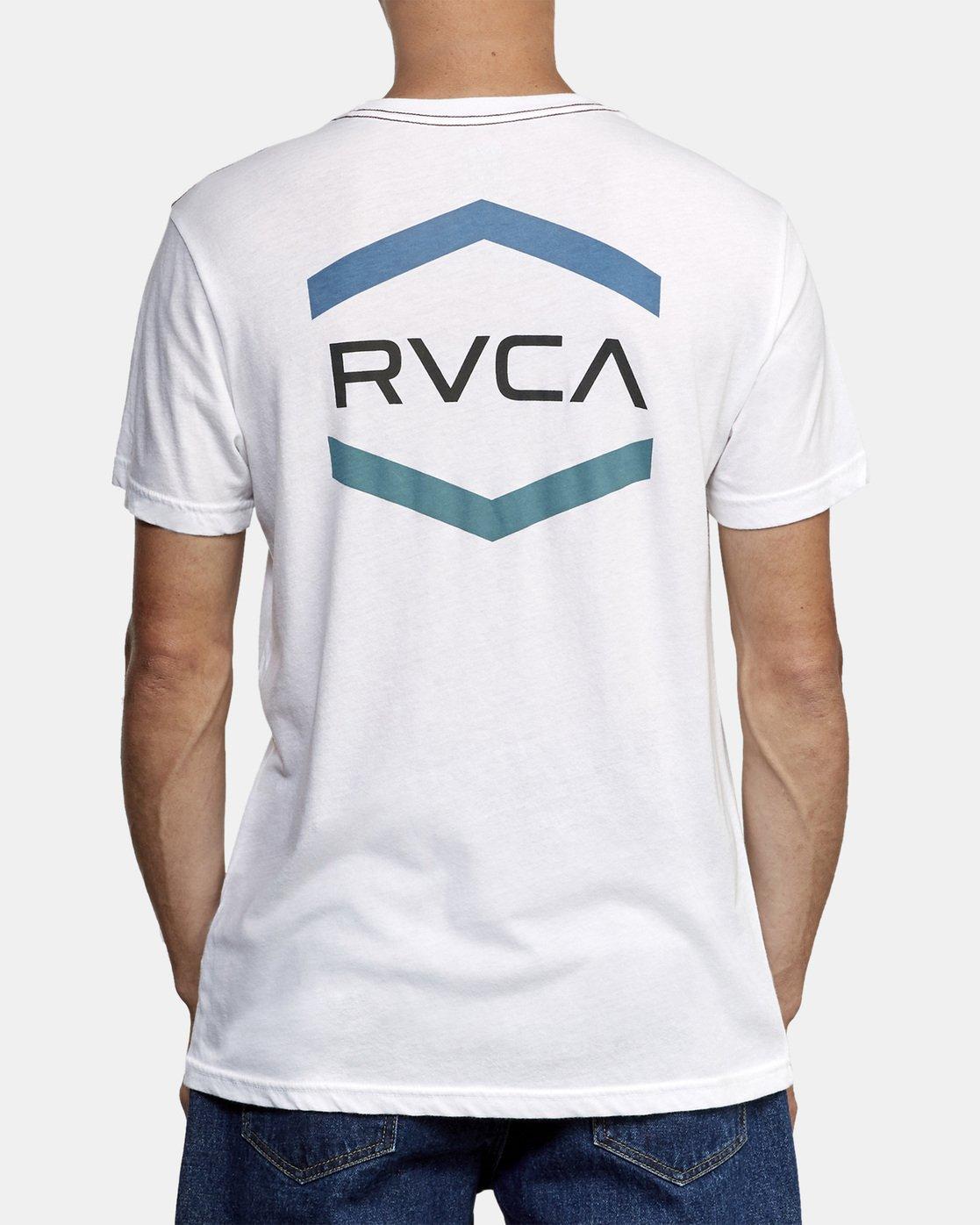4 Airborne T-Shirt White M420WRAI RVCA