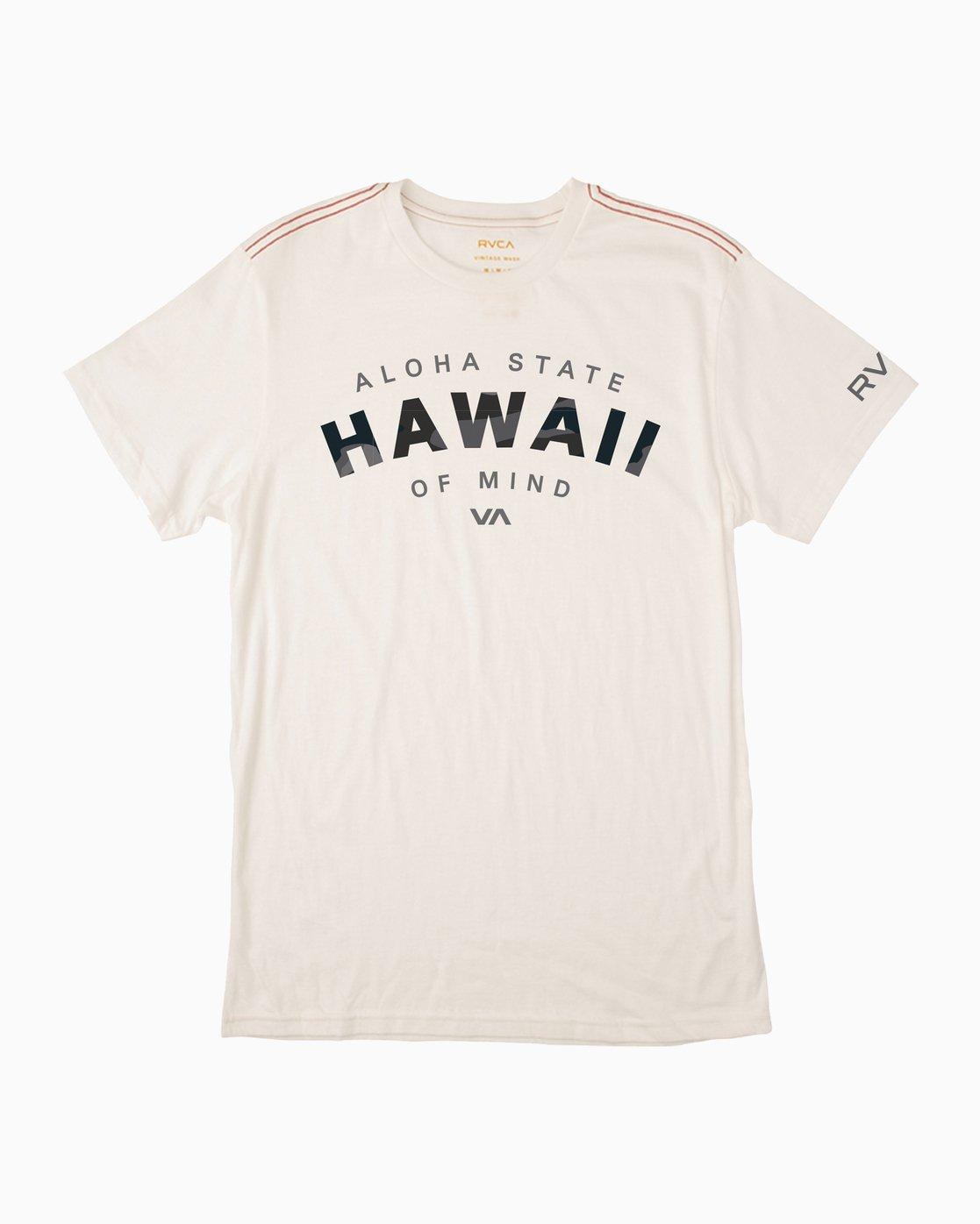 0 Arc Hawaii T-Shirt  M422PRAS RVCA