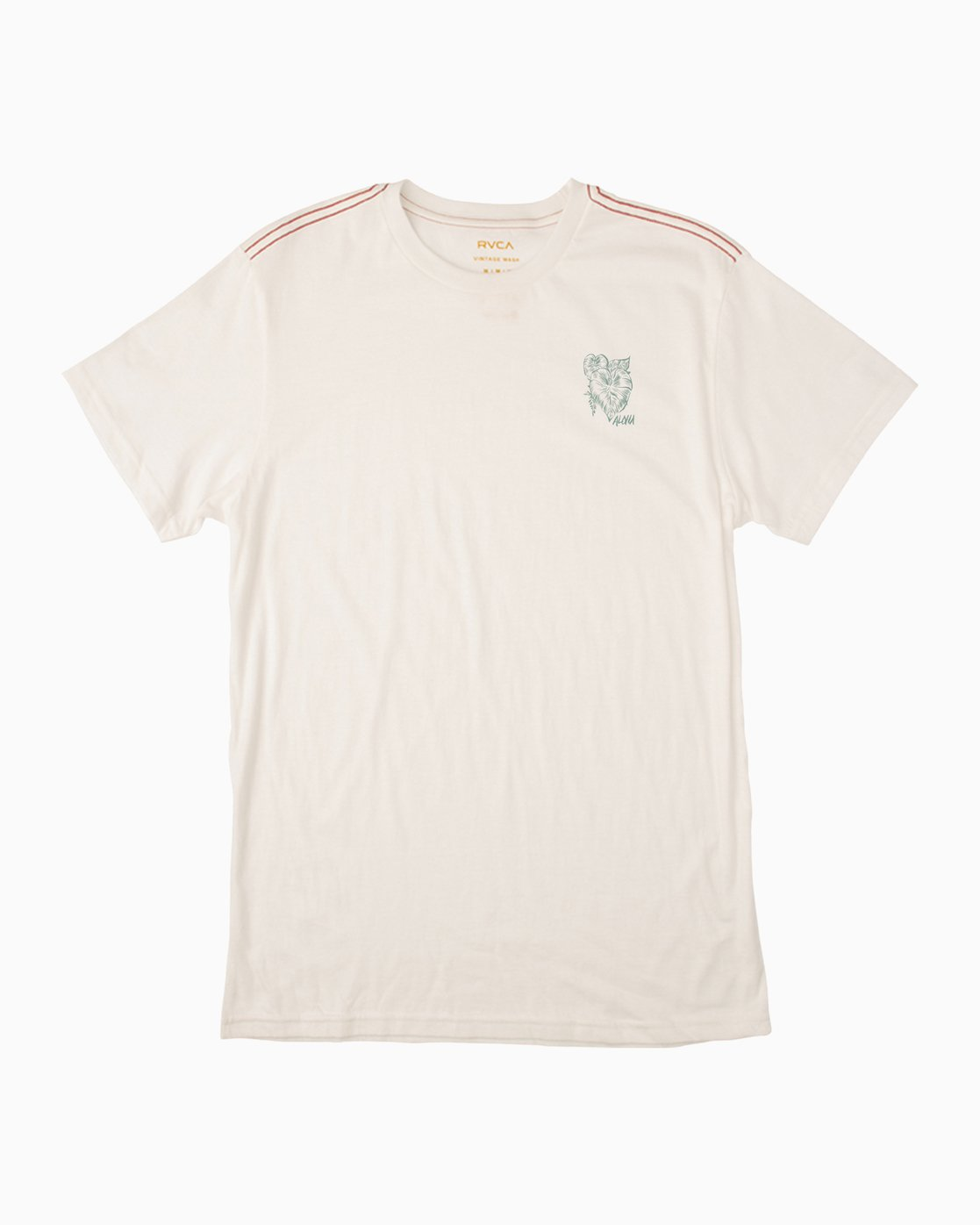 1 Big Leaf T-Shirt White M422PRIS RVCA