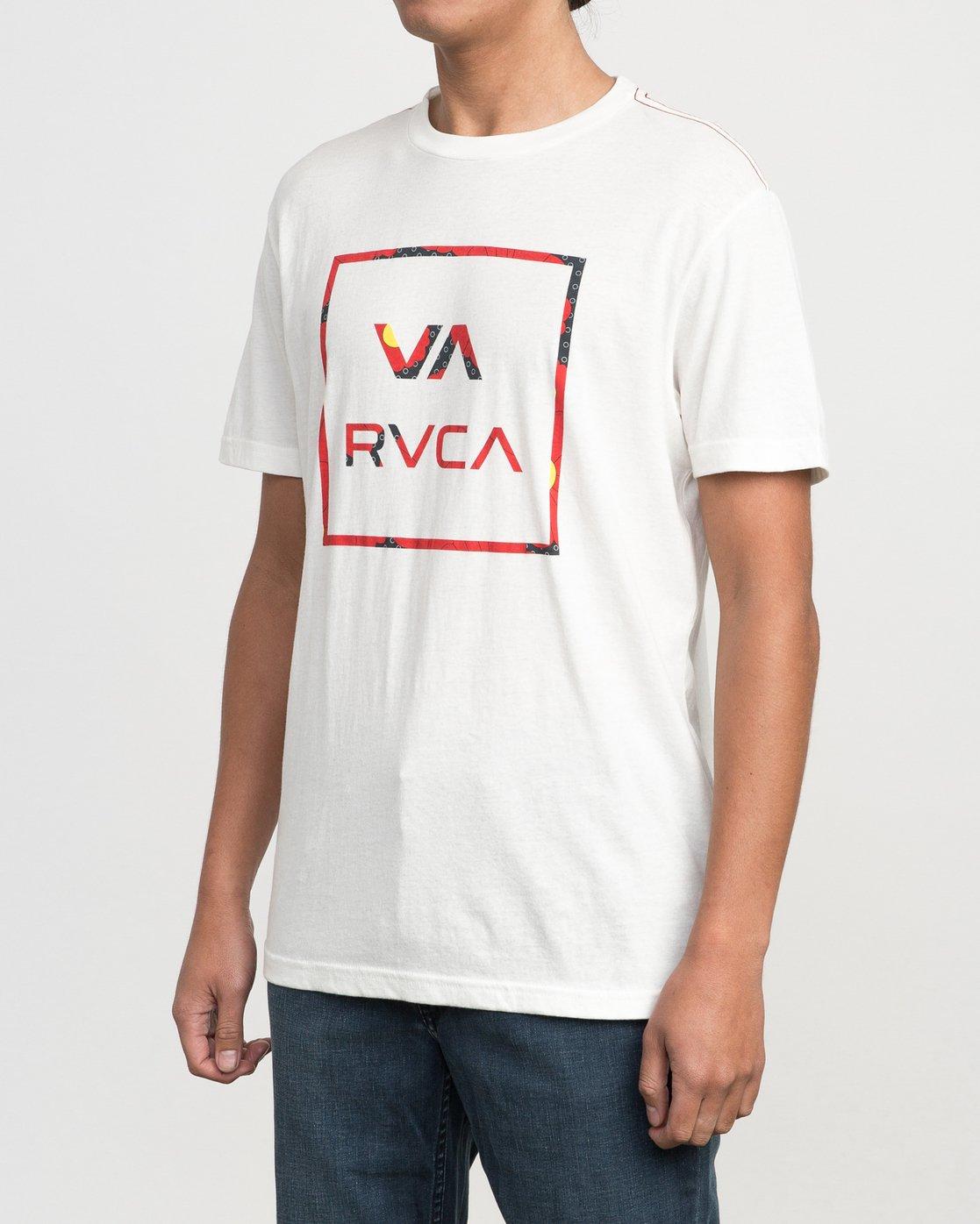 2 VA Fill Up T-Shirt  M422PRVA RVCA