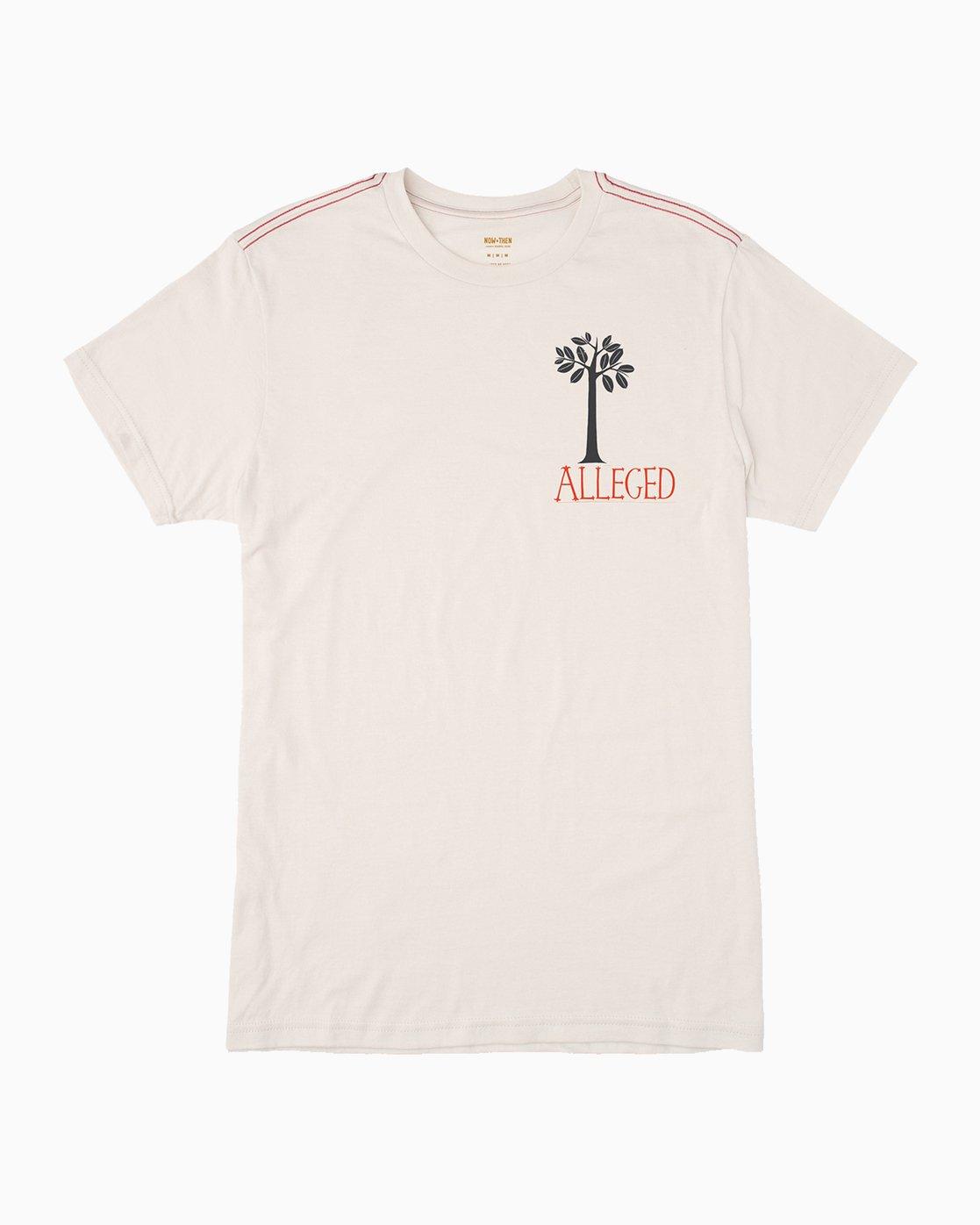 0 Alleged Margaret Tree T-Shirt  M422QRAT RVCA