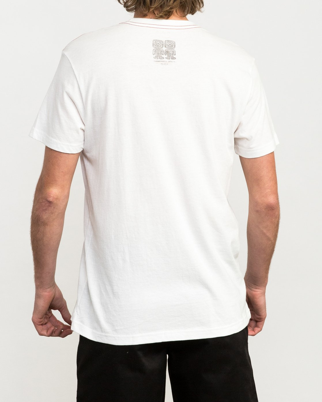 4 Campbell Brothers Bonzer T-Shirt White M422QRBO RVCA