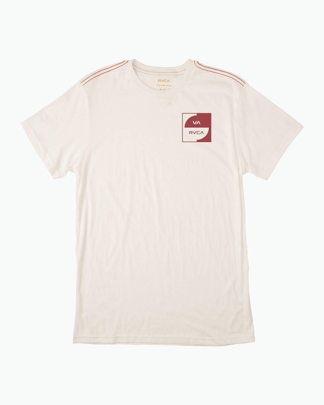0 Squircle T-Shirt  M422QRDQ RVCA