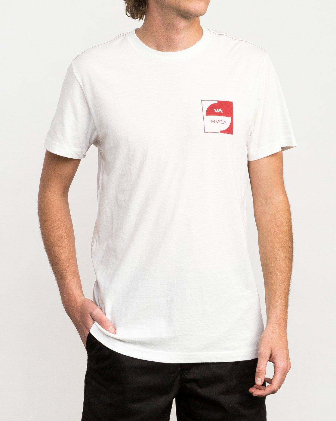 1 Squircle T-Shirt  M422QRDQ RVCA