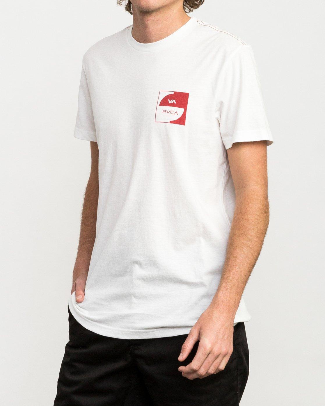 2 Squircle T-Shirt  M422QRDQ RVCA