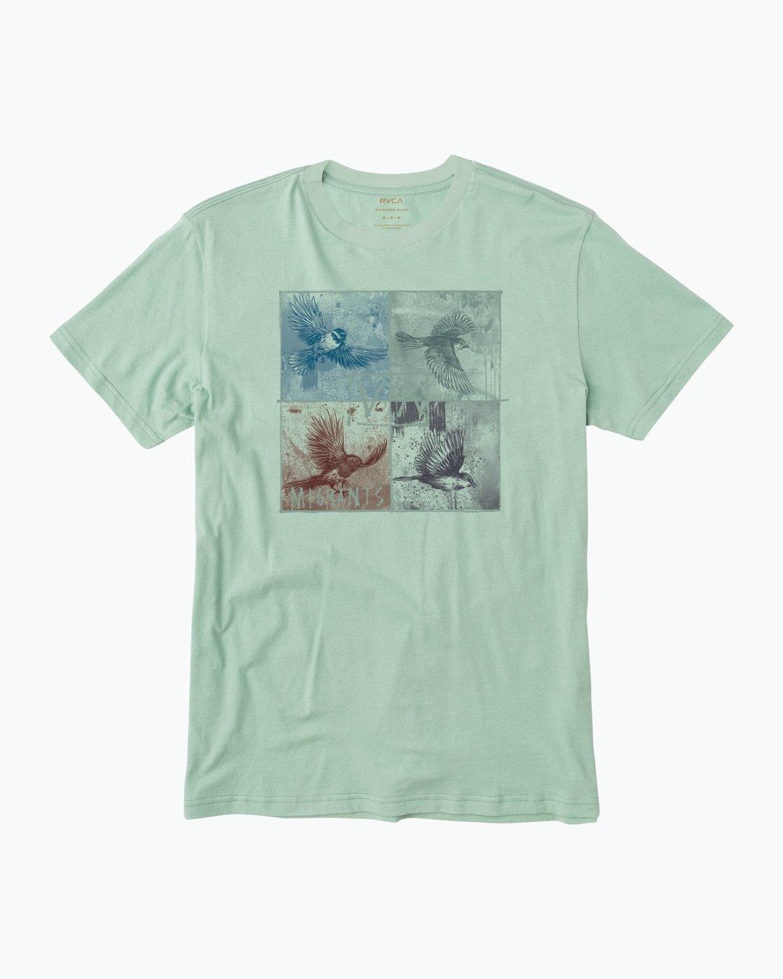 0 Migration T-Shirt  M422QRMI RVCA