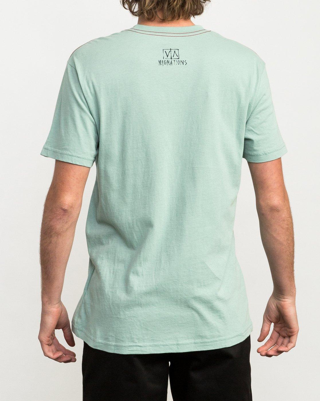 4 Migration T-Shirt  M422QRMI RVCA