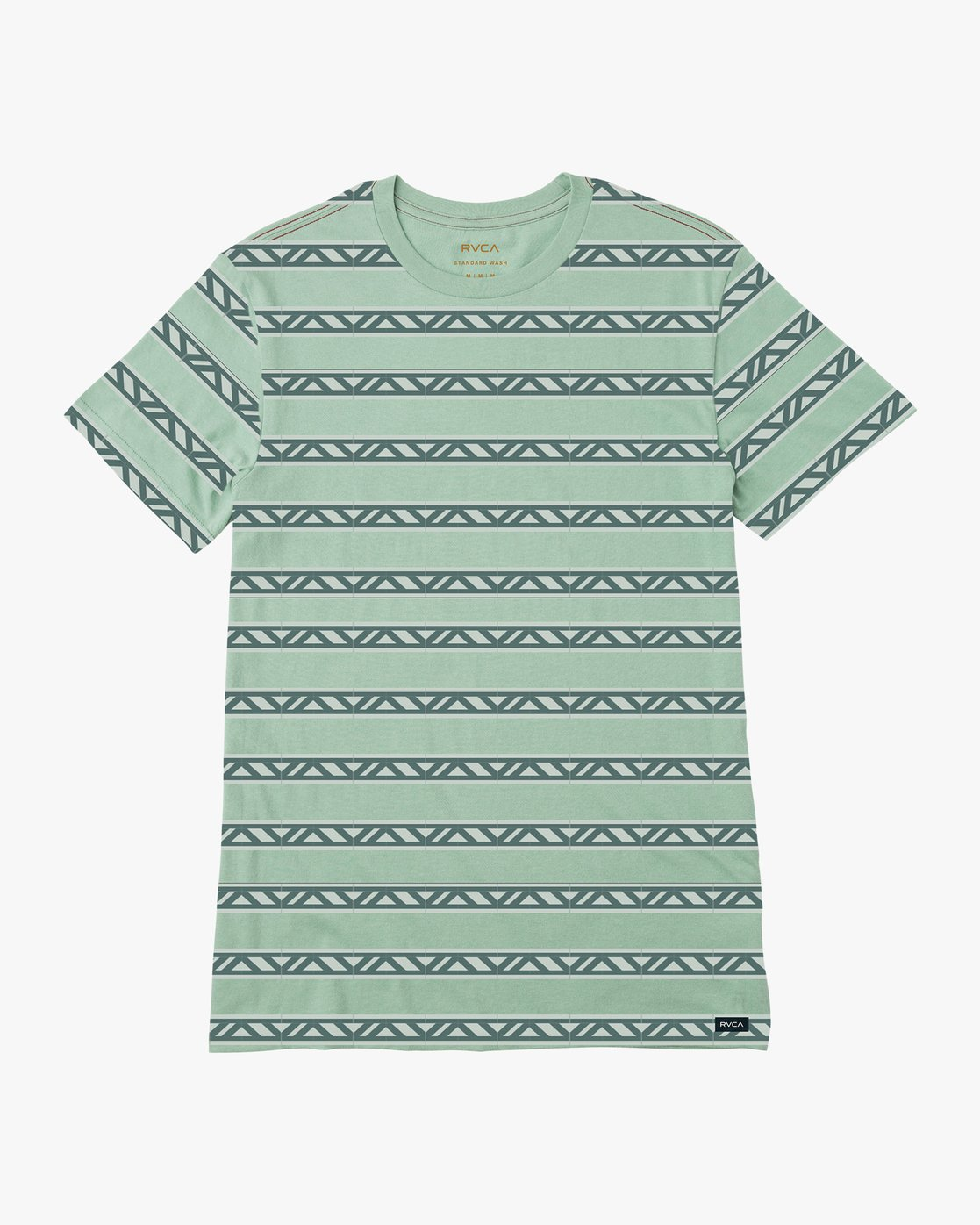 0 VA Repeater Striped T-Shirt Green M422QRVA RVCA
