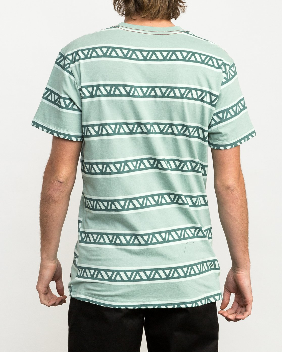 3 VA Repeater Striped T-Shirt  M422QRVA RVCA