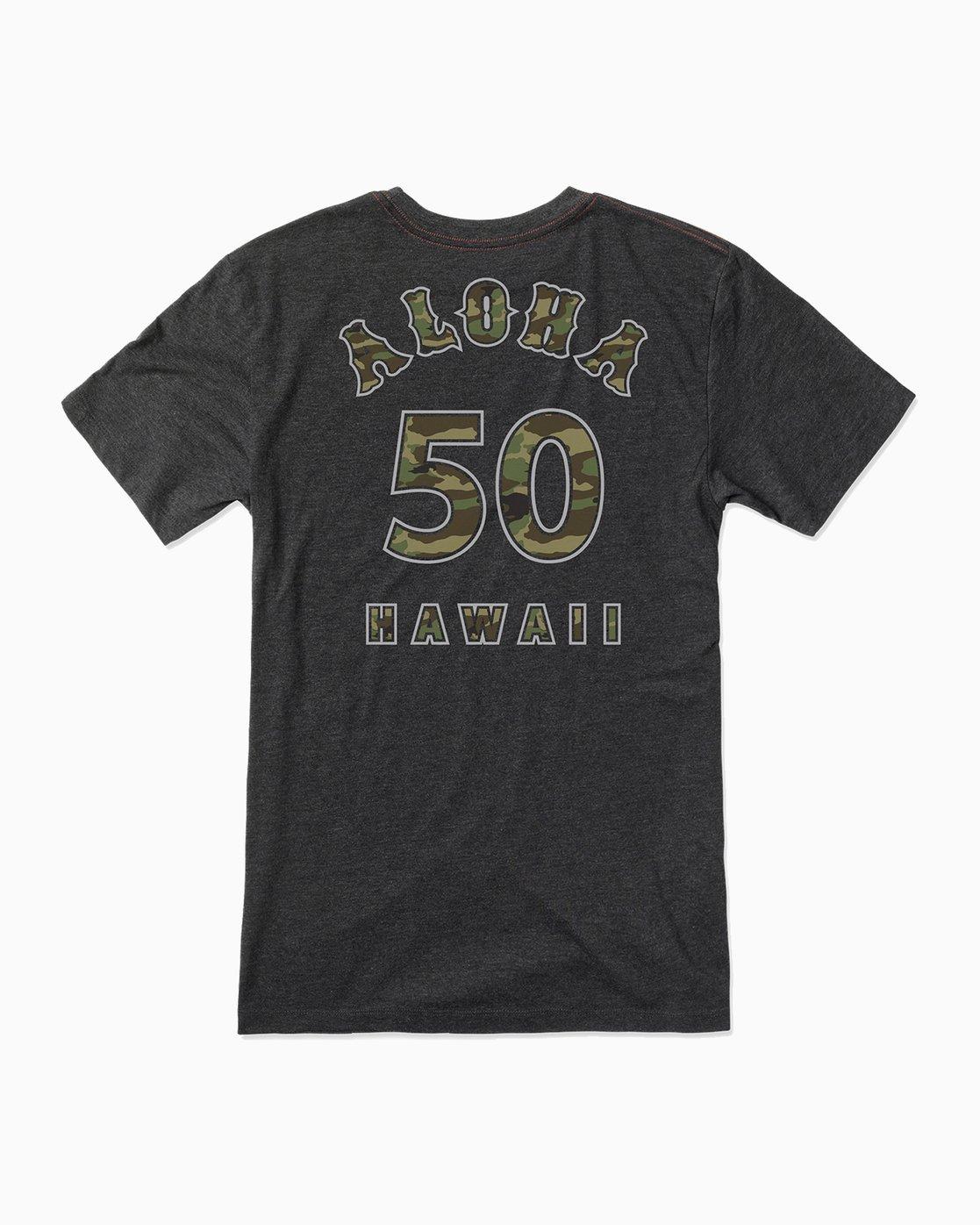 0 Camo Seal Hawaii T-Shirt  M422SRCS RVCA
