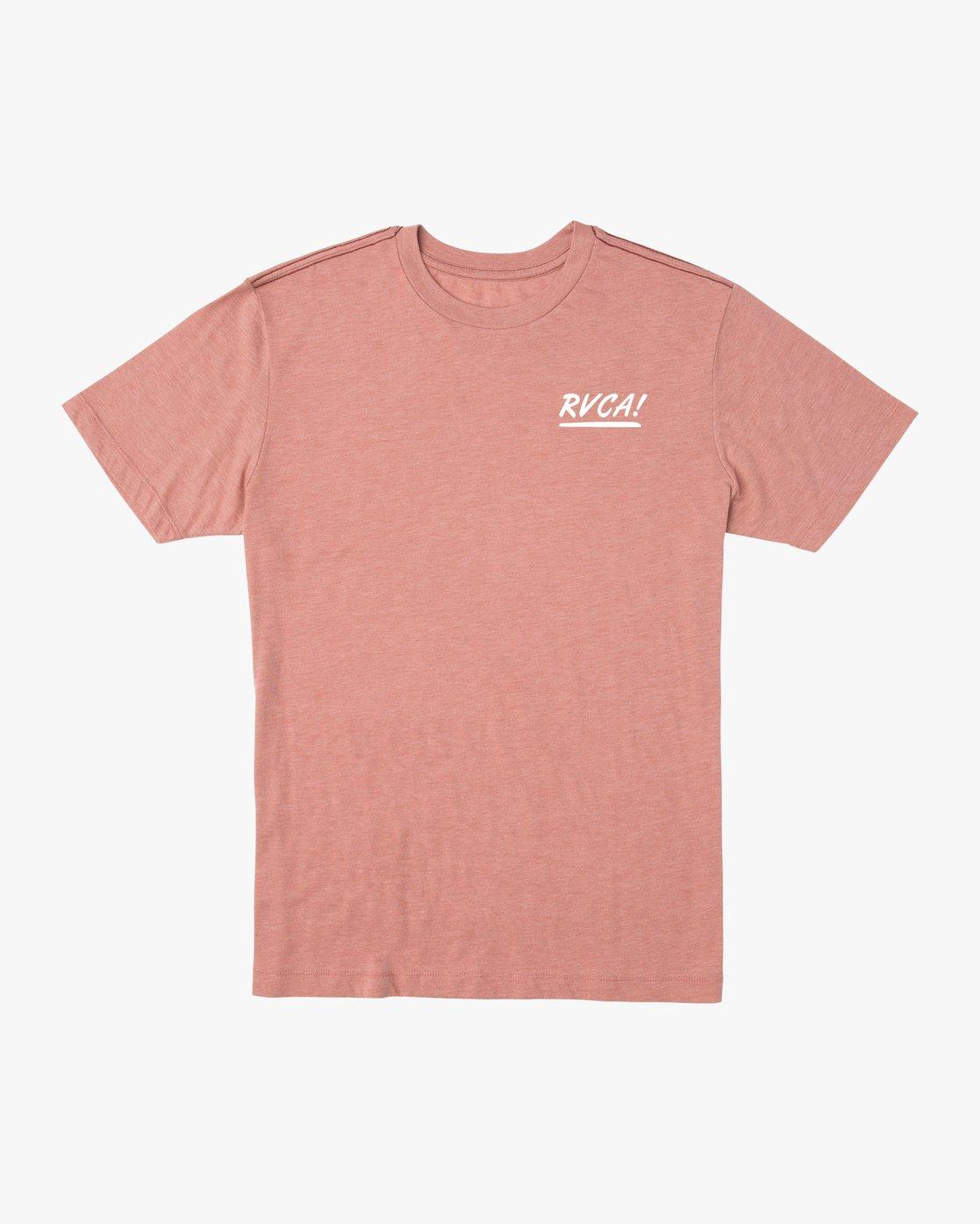 1 Deserted T-Shirt Brown M422URDT RVCA