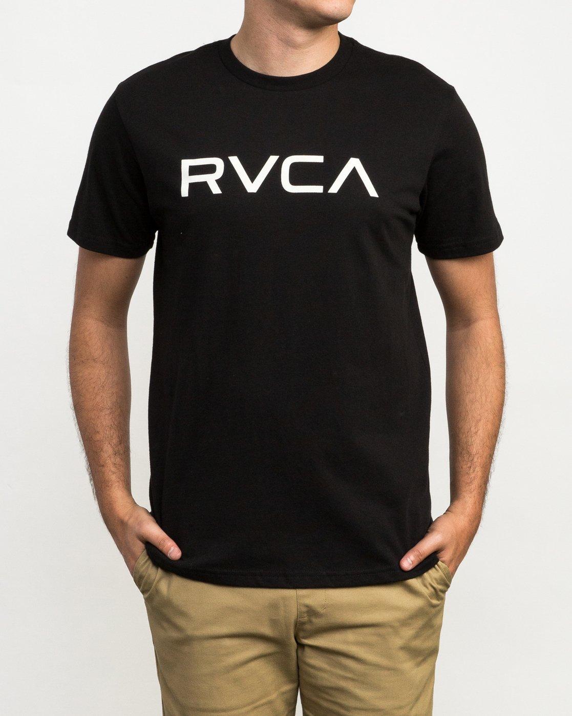 1 Big RVCA T-Shirt  M426QRBI RVCA