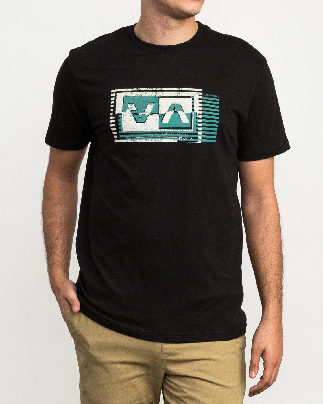 1 Copy Box T-Shirt Black M426QRCO RVCA