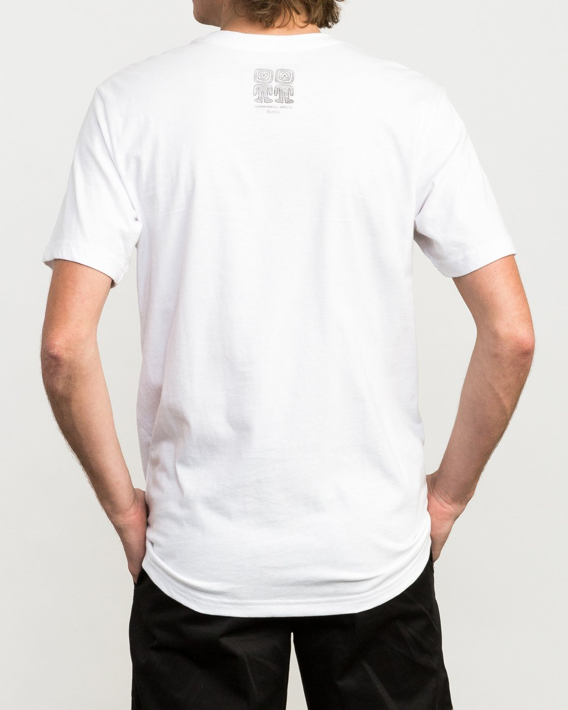4 Campbell Brothers Freedom Of Choice T-Shirt White M426QRFR RVCA