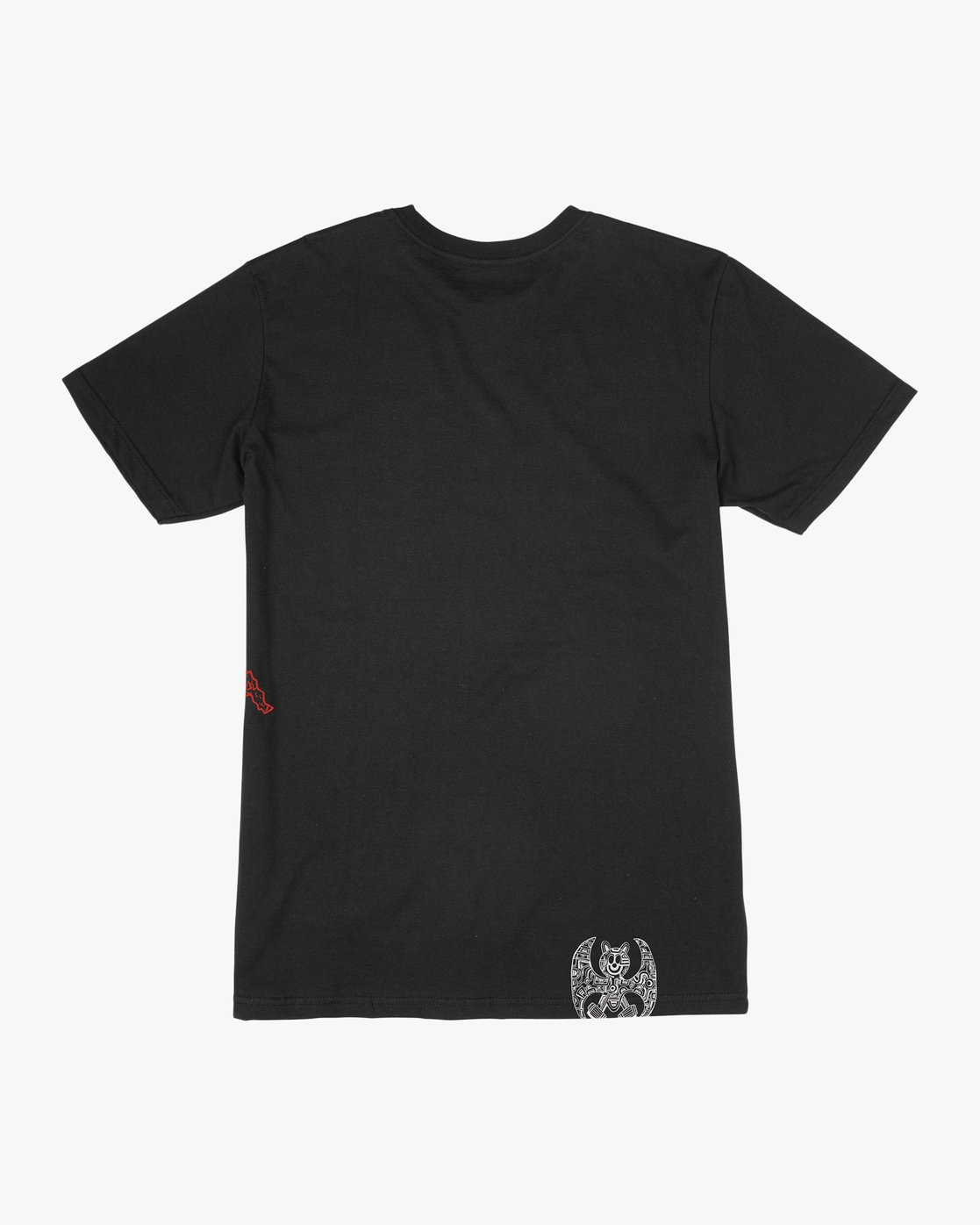 1 Grillo Bone T-Shirt Black M426QRGR RVCA
