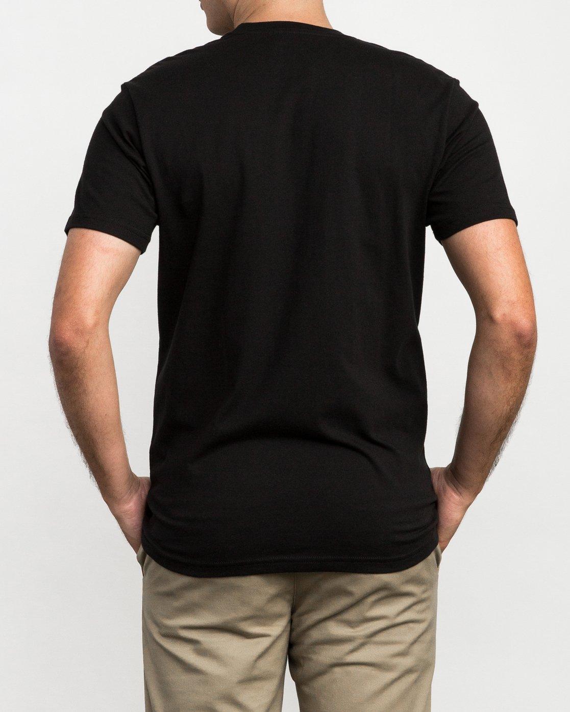 3 RVCA Reflection Box T-Shirt  M426QRRE RVCA