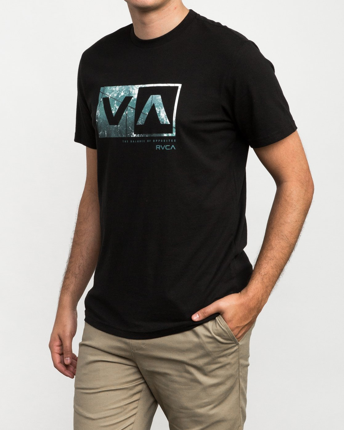 2 RVCA Reflection Box T-Shirt  M426QRRE RVCA