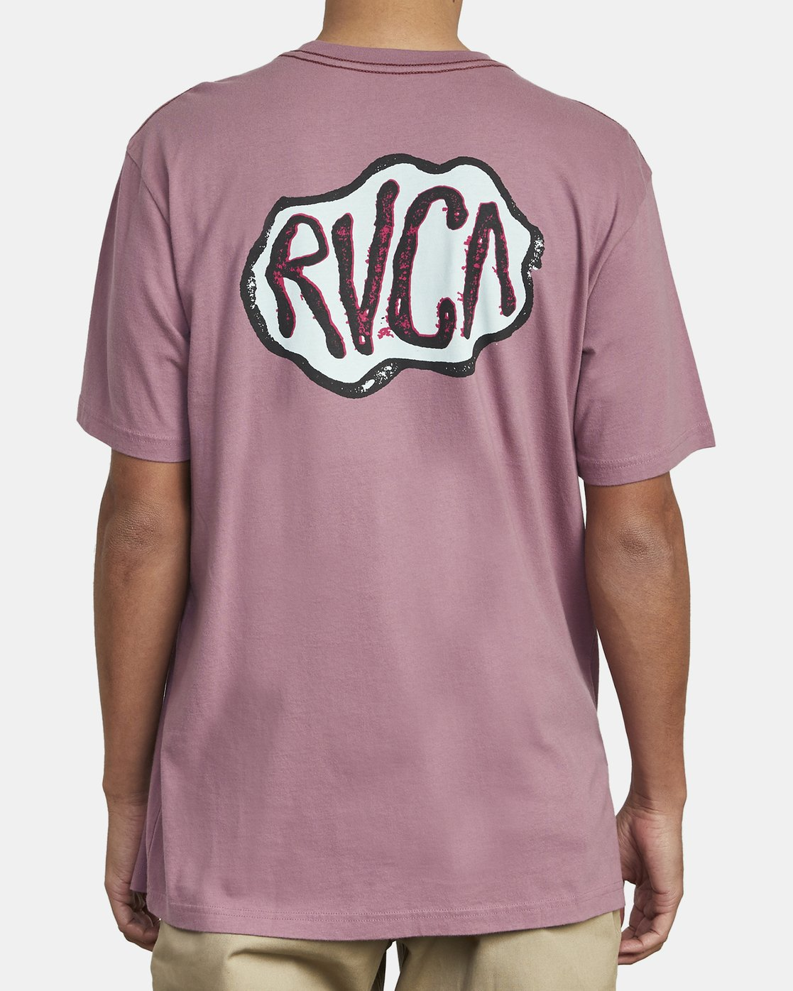 6 CORNER T-SHIRT Purple M4301RCO RVCA