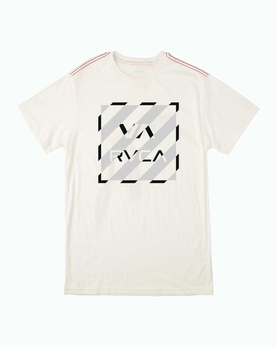 0 HAZARD BOX T-SHIRT White M4301RHA RVCA