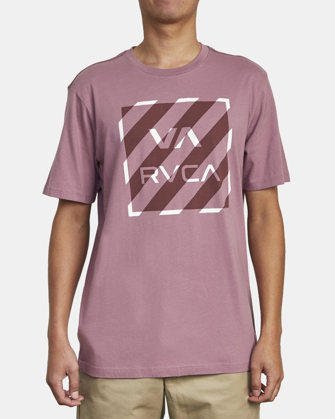1 HAZARD BOX T-SHIRT Purple M4301RHA RVCA