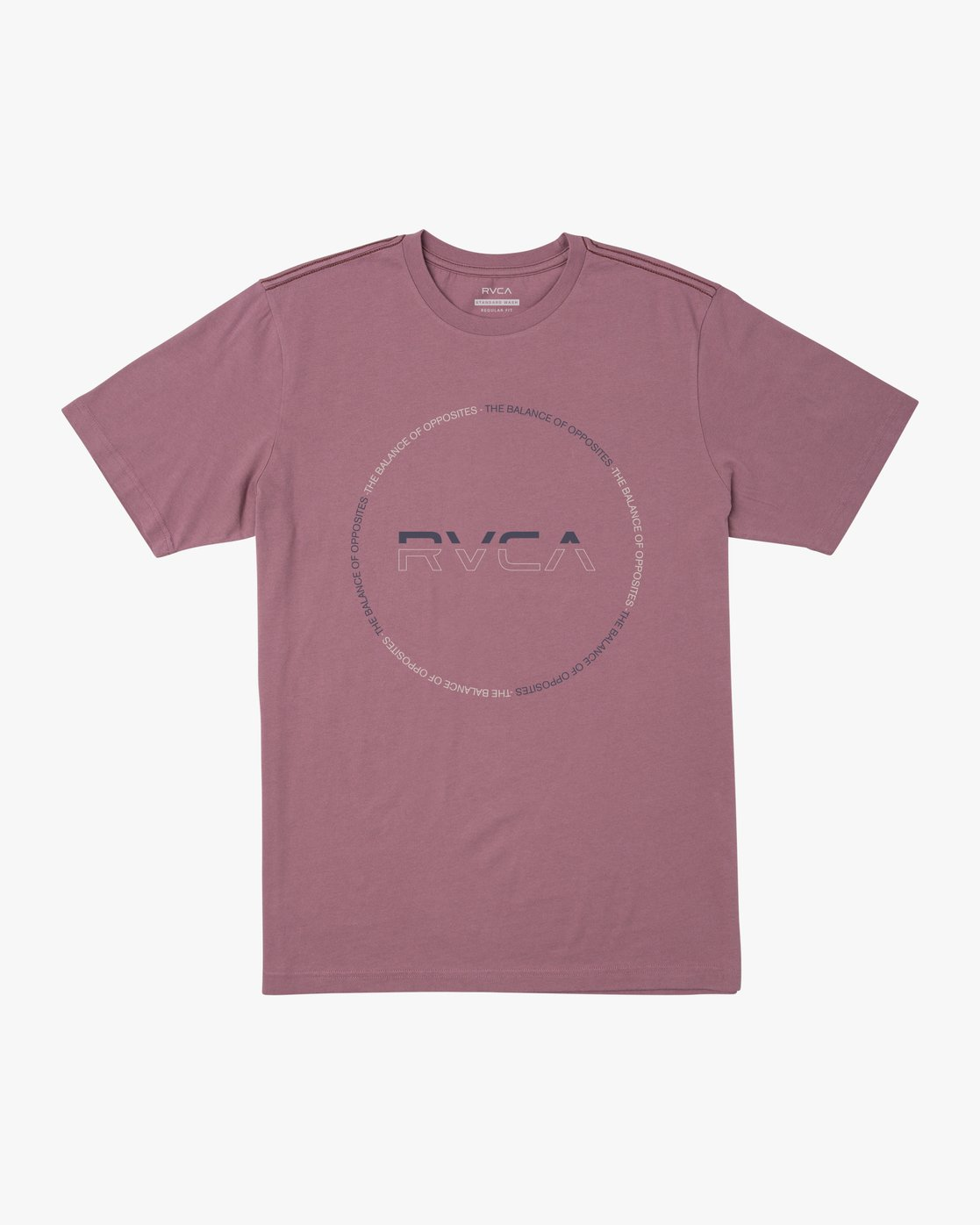 0 SPLITTER SEAL T-SHIRT Purple M4301RSP RVCA