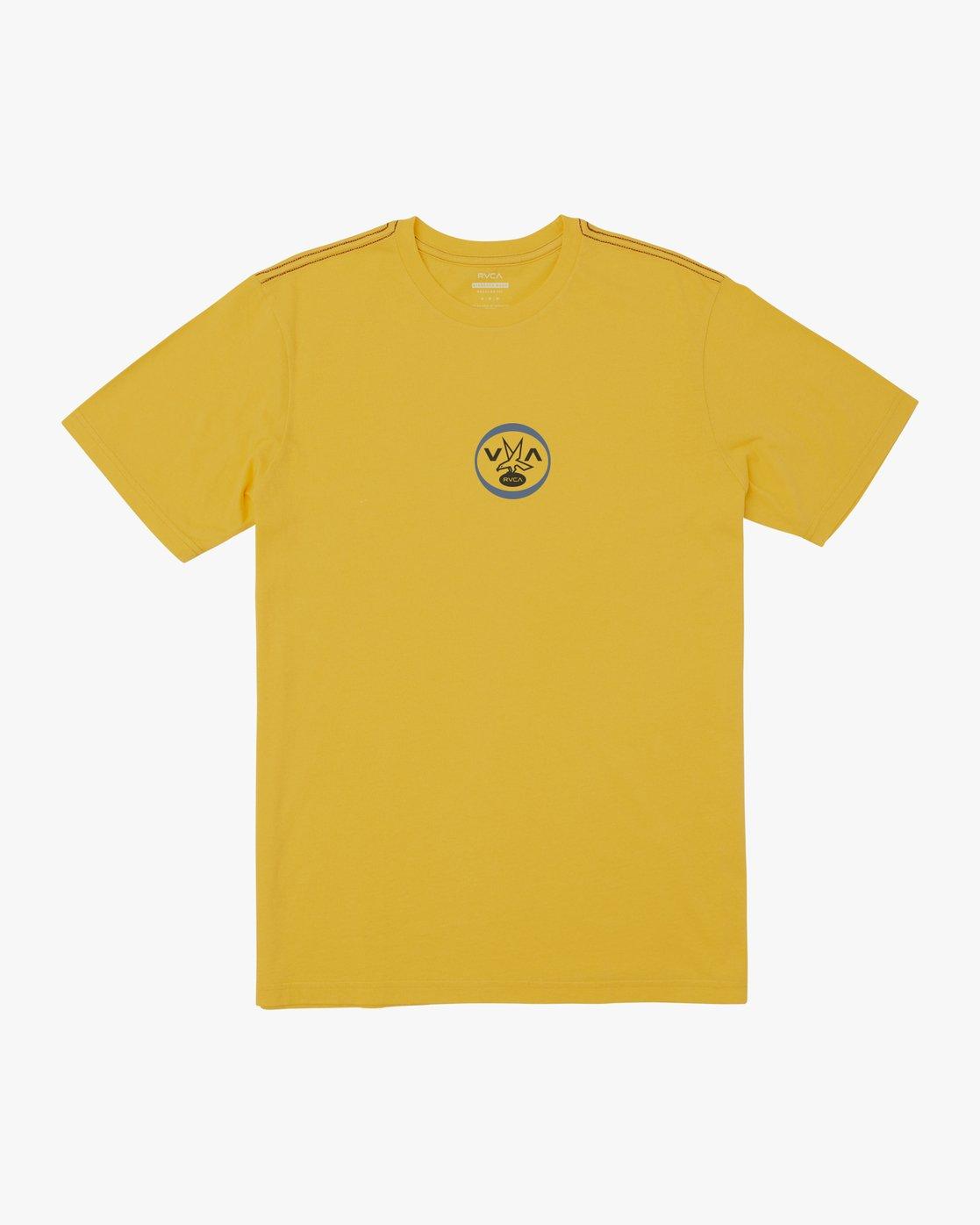0 VA FALCON T-SHIRT Yellow M4301RVF RVCA