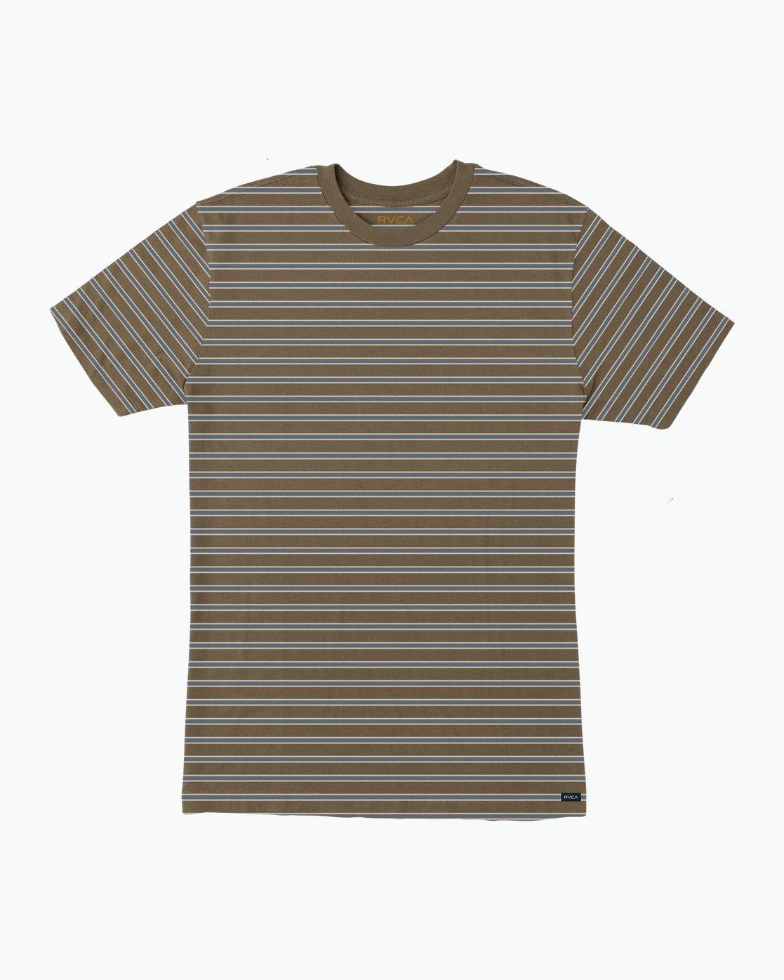 0 Brong Stripe T-Shirt Multicolor M430SRBR RVCA